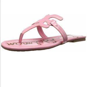 Sam Edelman Carter pink patent sandals.  Size 7.5M